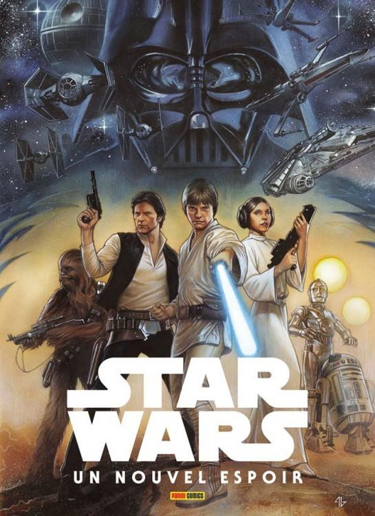 Star Wars Un Nouvel Espoir Panini Comics