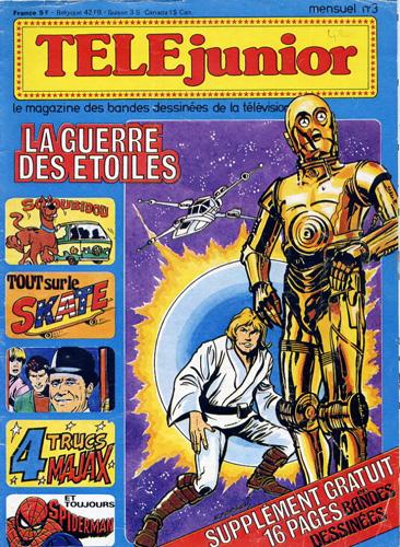 Comics Marvel - Télé Junior