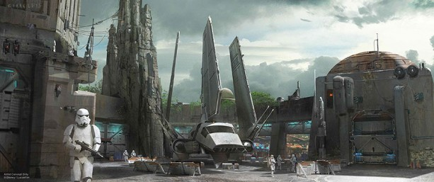 Disneyland Star Wars Land