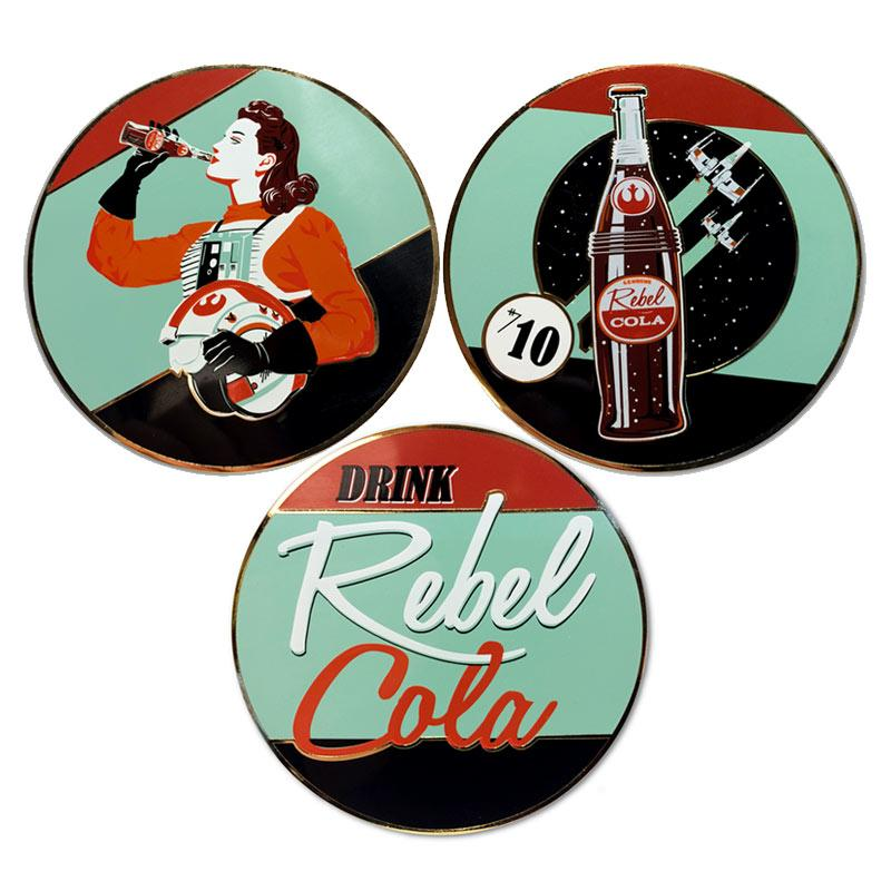 Pins Rebel Cola de Steve Thomas