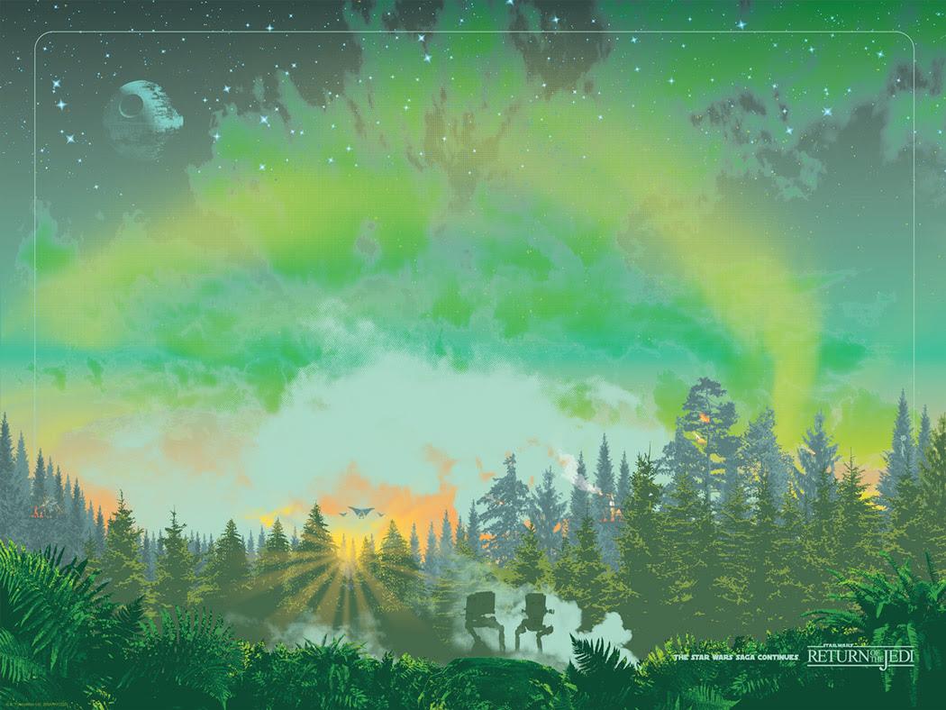 Art Print Scout Patrol deGuy Stauber