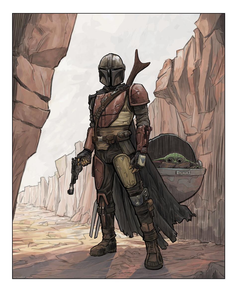 Art Print <a href='/livre-2254-the-bounty-hunter.html' class='qtip_motcle' tt_type='livre' tt_id=2254>The Bounty Hunter</a> deBrent Woodside