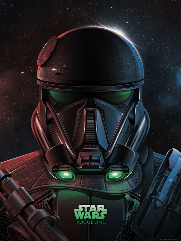 Art Print Imperial Death Trooper de DKNG