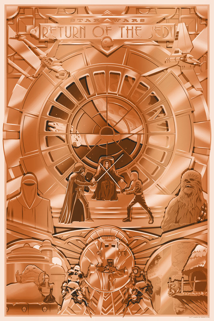 Art Print Shiny Return Regular de Steve Thomas