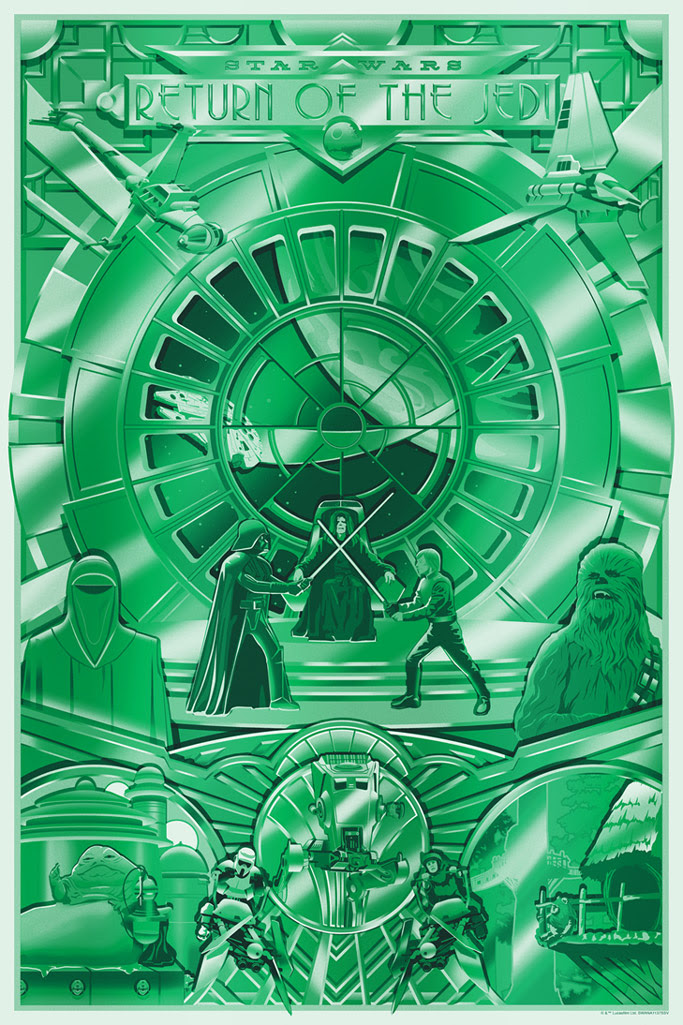 Art Print Shiny Return Variant de Steve Thomas