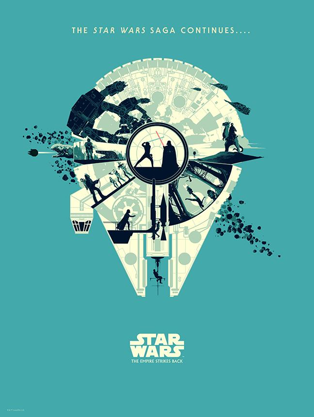 Art Print Star Wars Set of 3