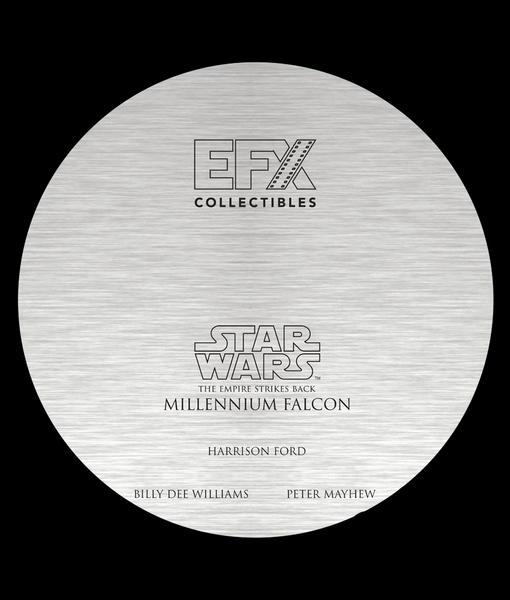 EFX Collectibles Millenium Falcon Signature 3