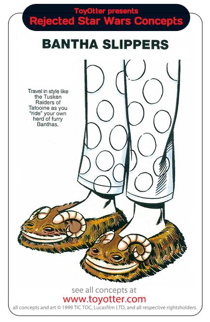 Pantoufles Bantha