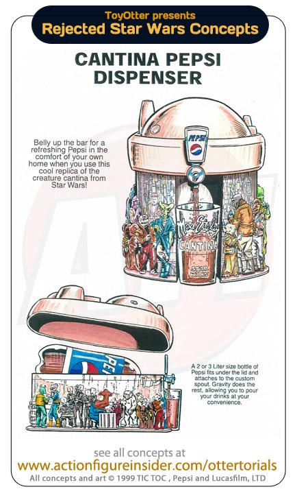 Distributeur Cantina Star Wars Pepsi