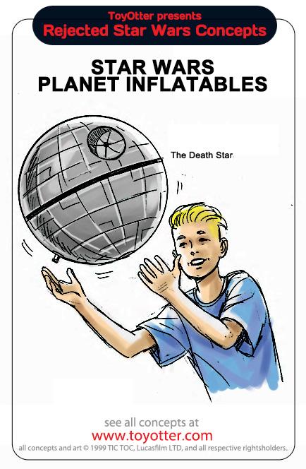 Ballon étoile de la mort