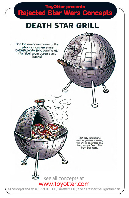 Barbecue Etoile de la Mort