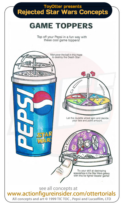 Game Toppers Pepsi Star Wars
