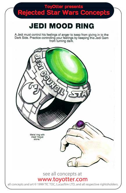 Jedi Mood Ring Bague