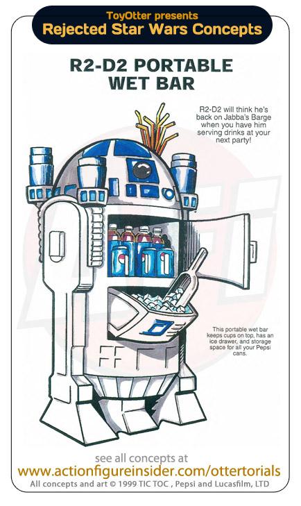 Réfrégirateur R2-D2