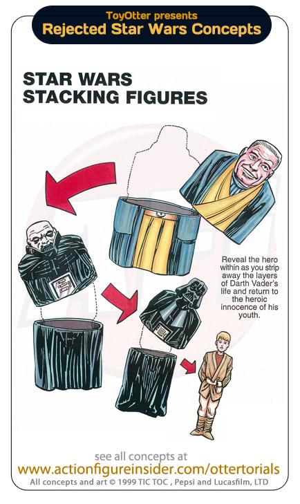 Poupées Russes Star Wars Anakin Vador