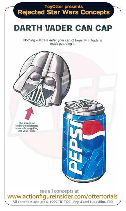 Bouchon pour canette Pepsi Star Wars