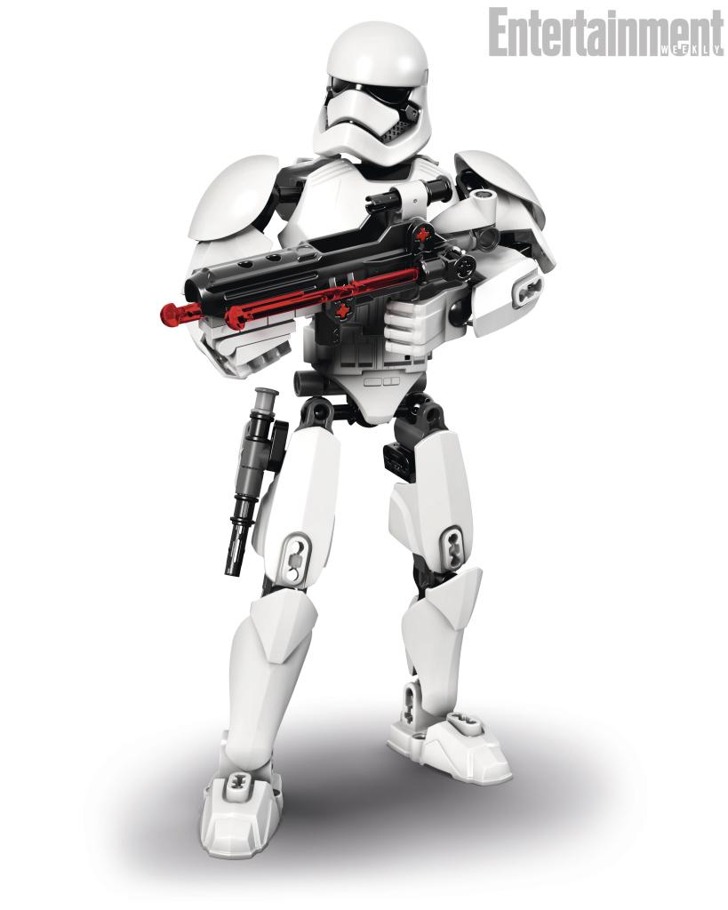 le stormtrooper du premier ordre dans tous les sens actualit s collection star wars universe. Black Bedroom Furniture Sets. Home Design Ideas