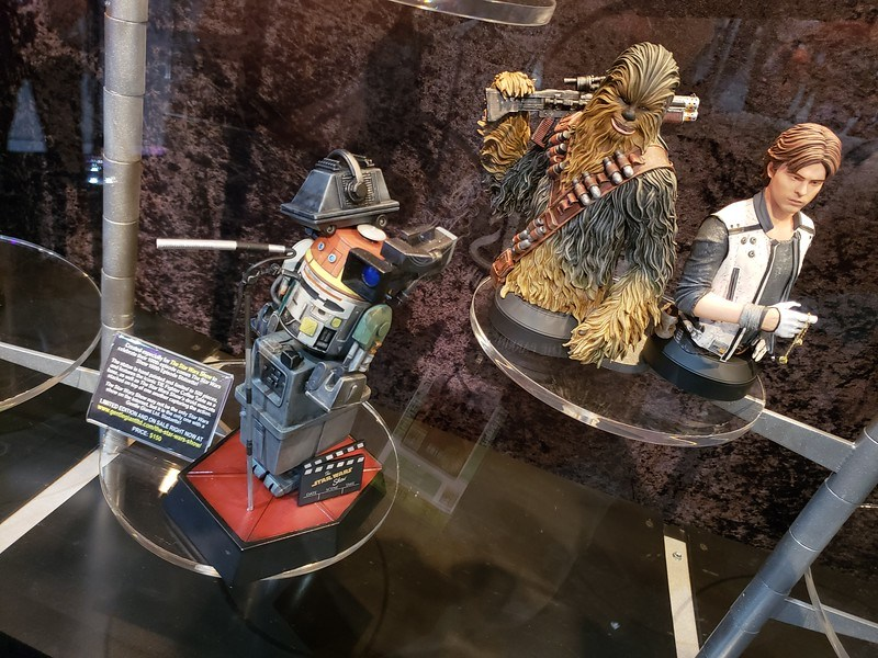 Gentle Giant SDCC 2018 : Han Solo & Chewbacca