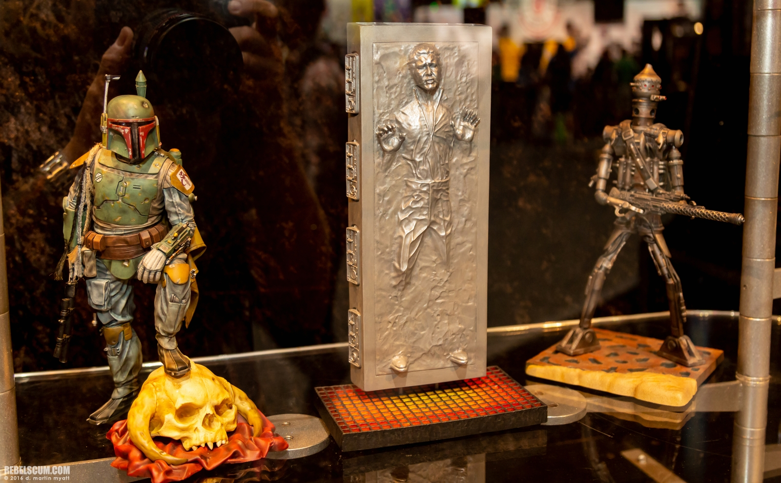 Gentle Giant SDCC 2018 : Han Solo in Carbonite