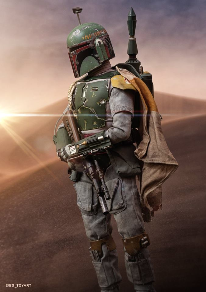 Hot Toys Boba Fett Episode V 3