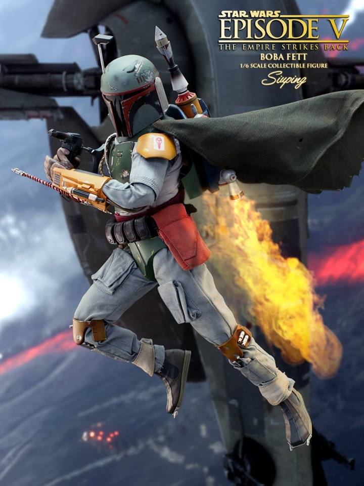 Hot Toys Boba Fett Episode V 5