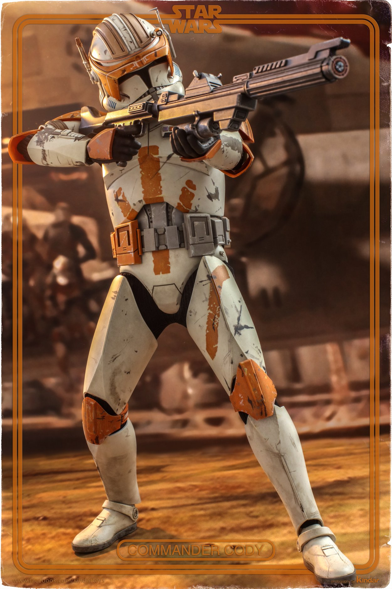 Hot Toys Commander Cody Final