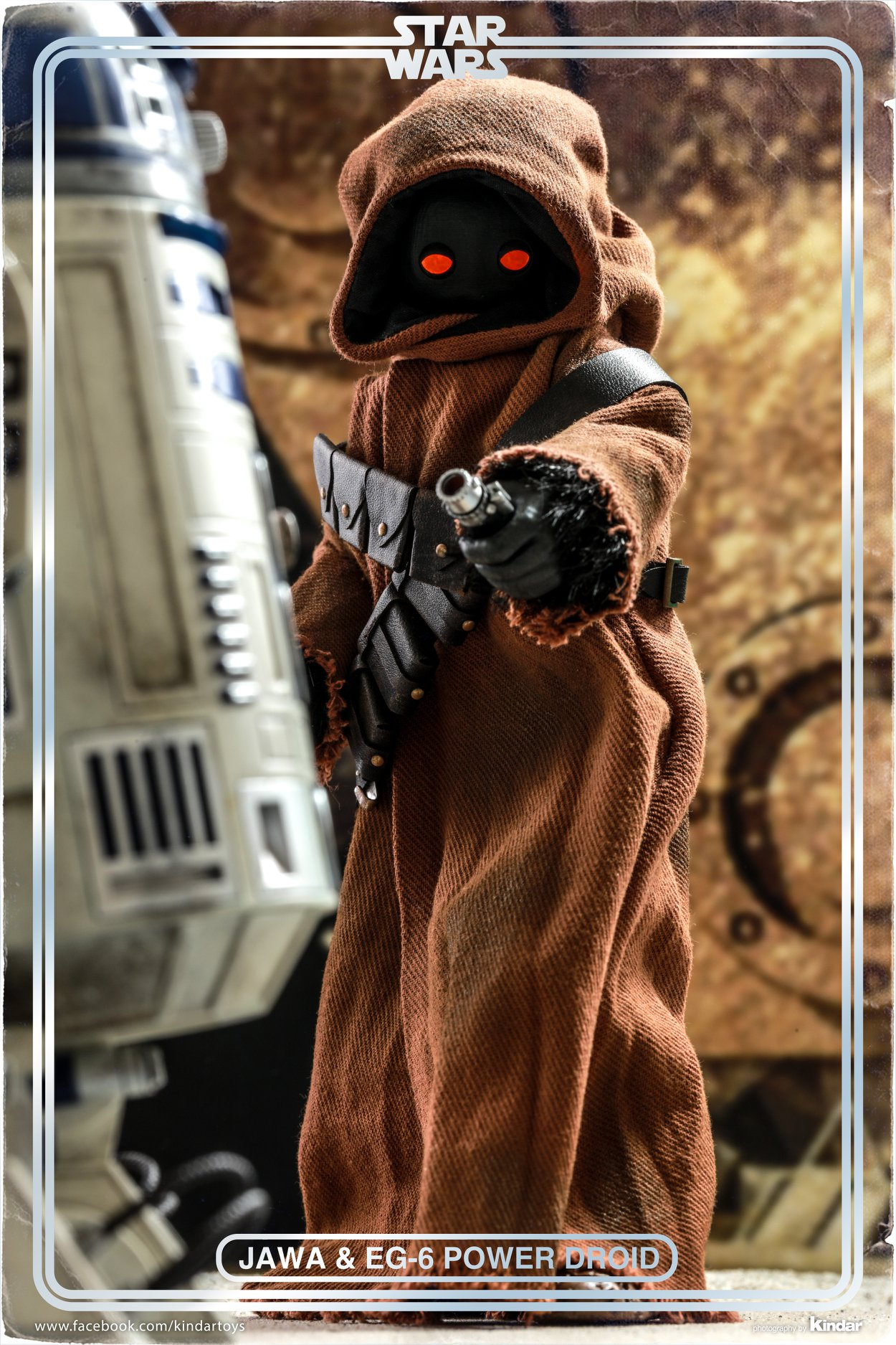 Hot Toys <a href='/espece-69-jawa.html' class='qtip_motcle' tt_type='espece' tt_id=69>Jawa</a> & EG-6 Power Droid