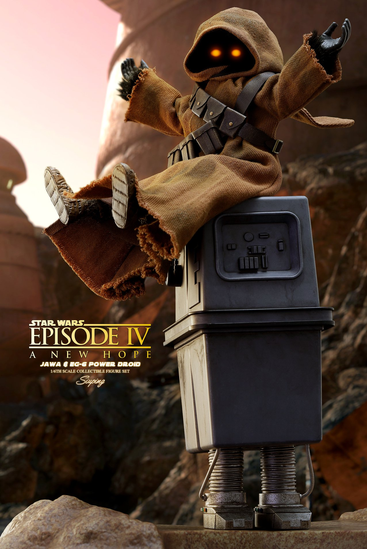 Hot Toys Jawa & EG-6 Power Droid