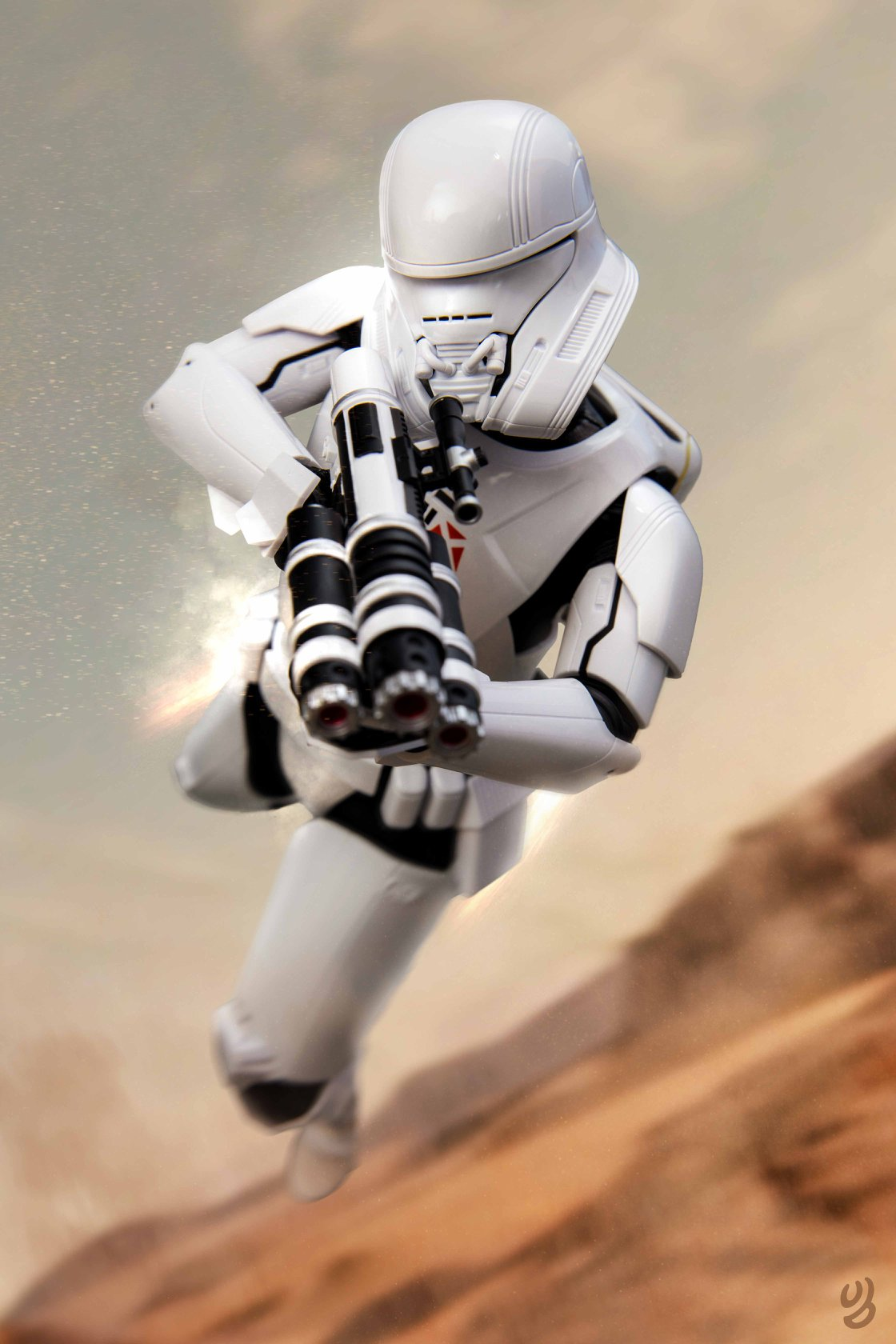 Hot Toys Jet Trooper Final