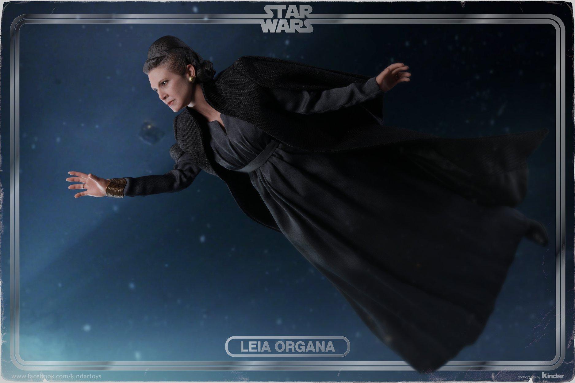 Hot Toys Leia Organa The Last jedi 4