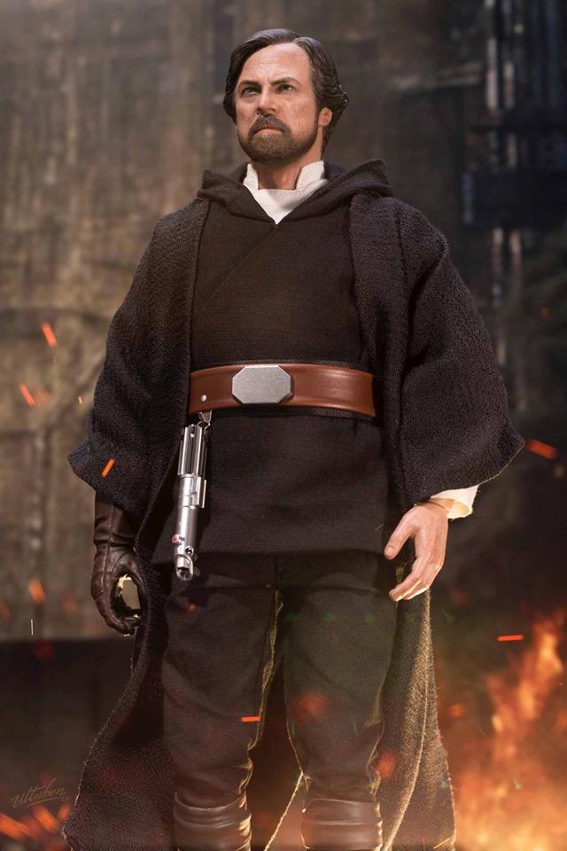 Hot Toys Luke Skywalker Crait 1