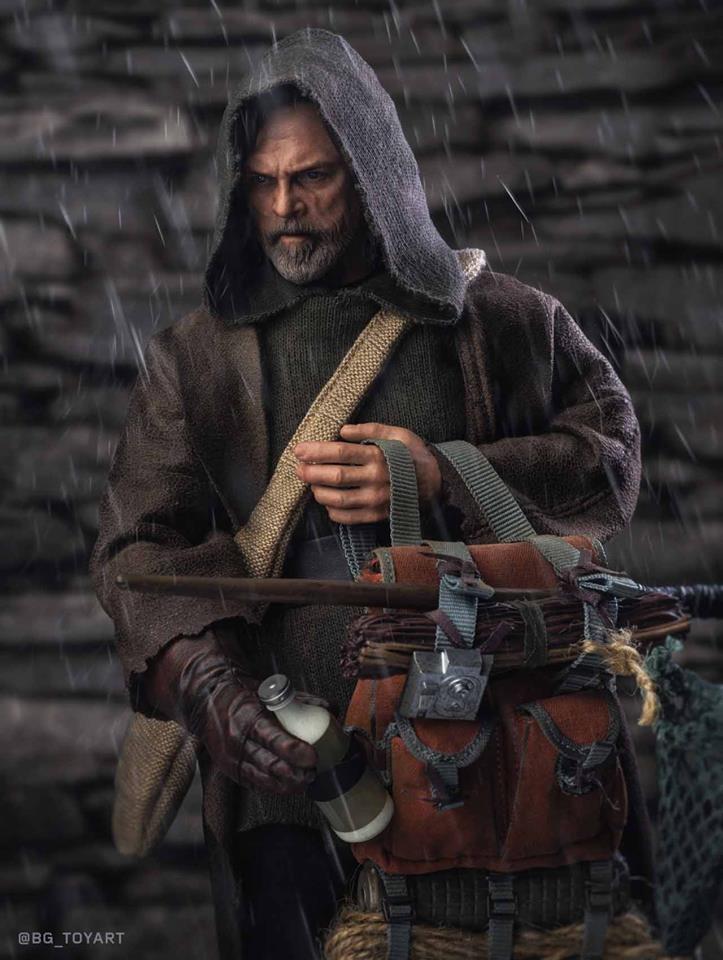 Hot Toys Luke Skywalker The Last jedi 2