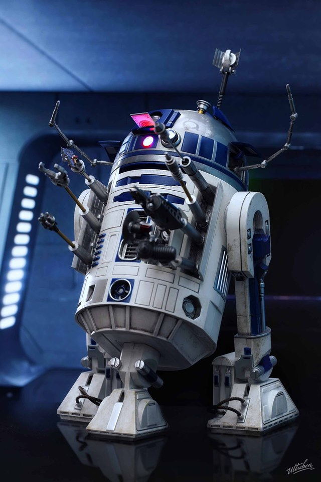 Hot Toys R2-D2 Deluxe 1