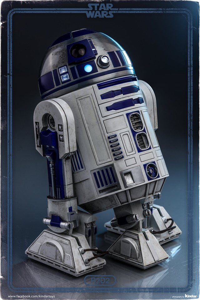 Hot Toys R2-D2 Deluxe 3