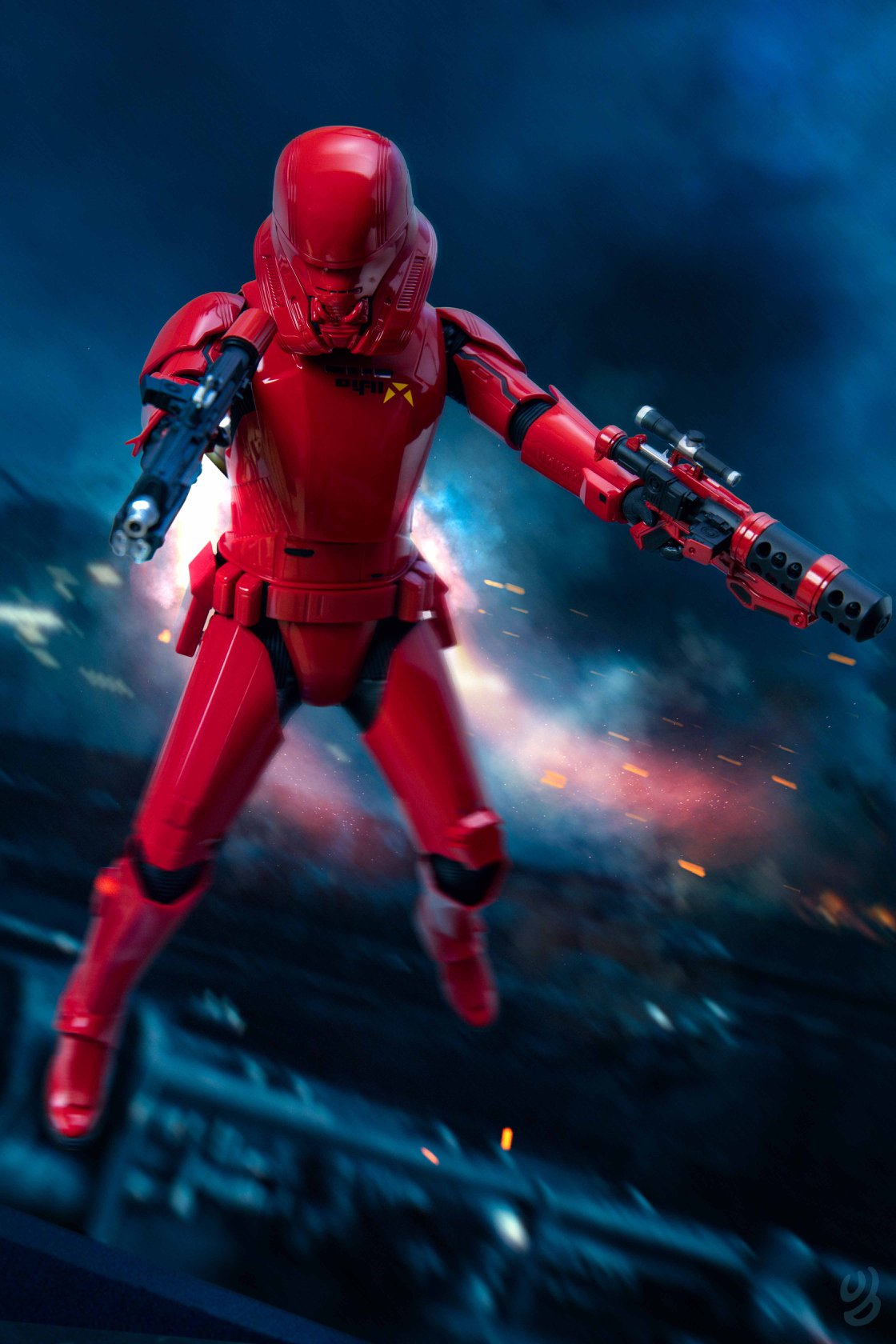 Hot Toys Sith Jet Trooper Final