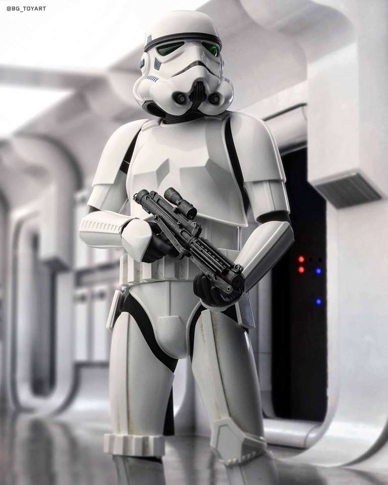 Hot Toys Stormtrooper 2