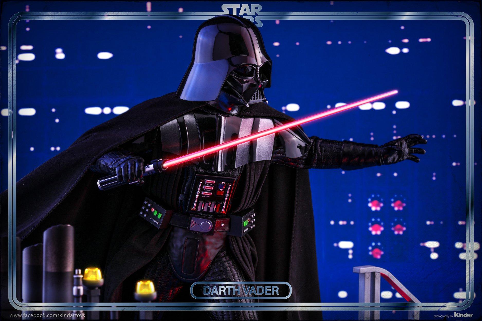 Hot Toys Darth Vader Episode V 5