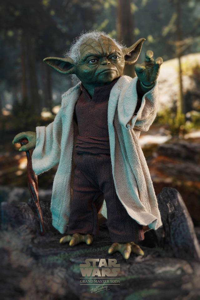 Hot Toys Yoda 2
