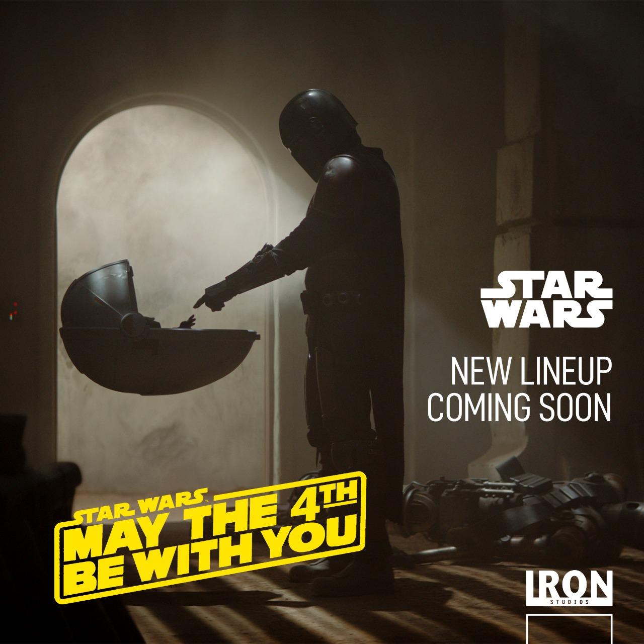 Iron Studios Teaser The Mandalorian