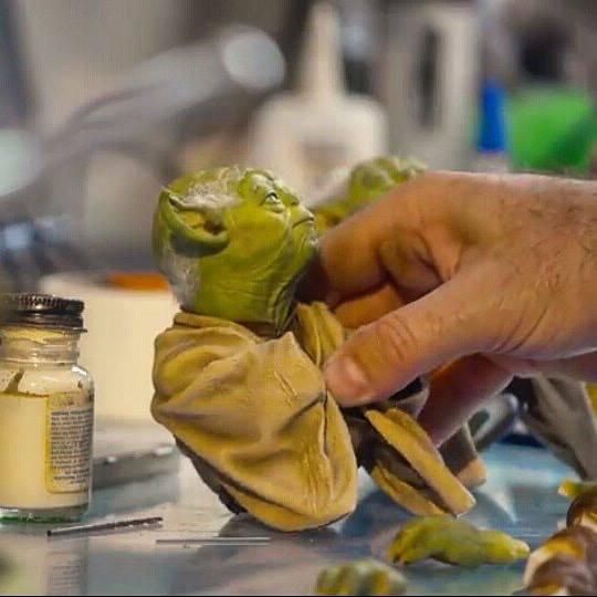 Iron Studios Yoda Preview 3