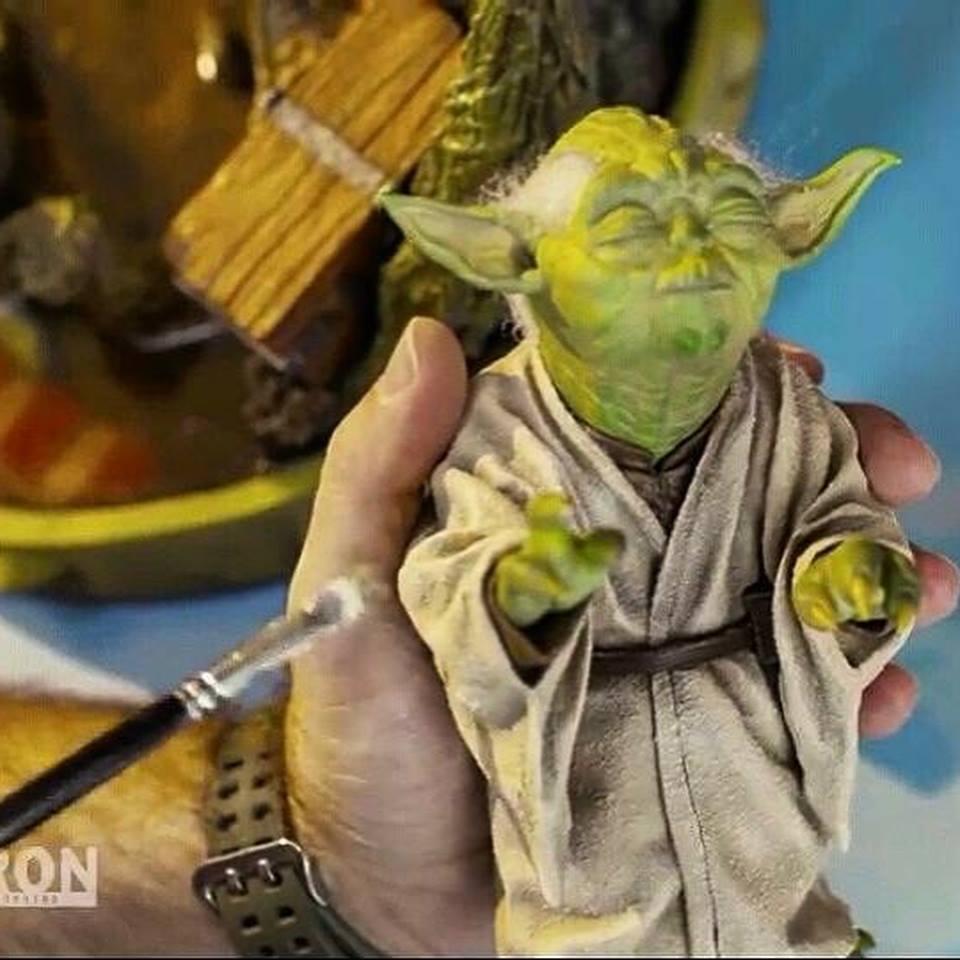 Iron Studios Yoda Preview 5