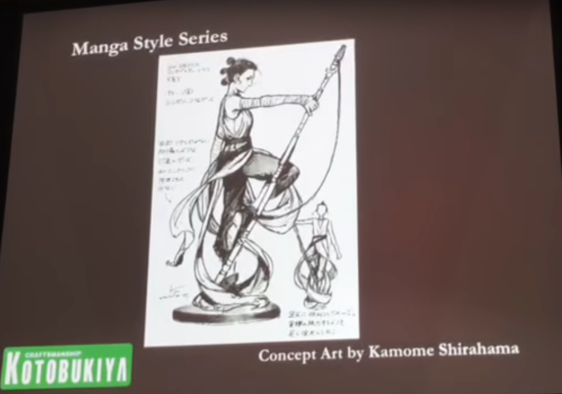 Kotobukiya Manga Style Preview