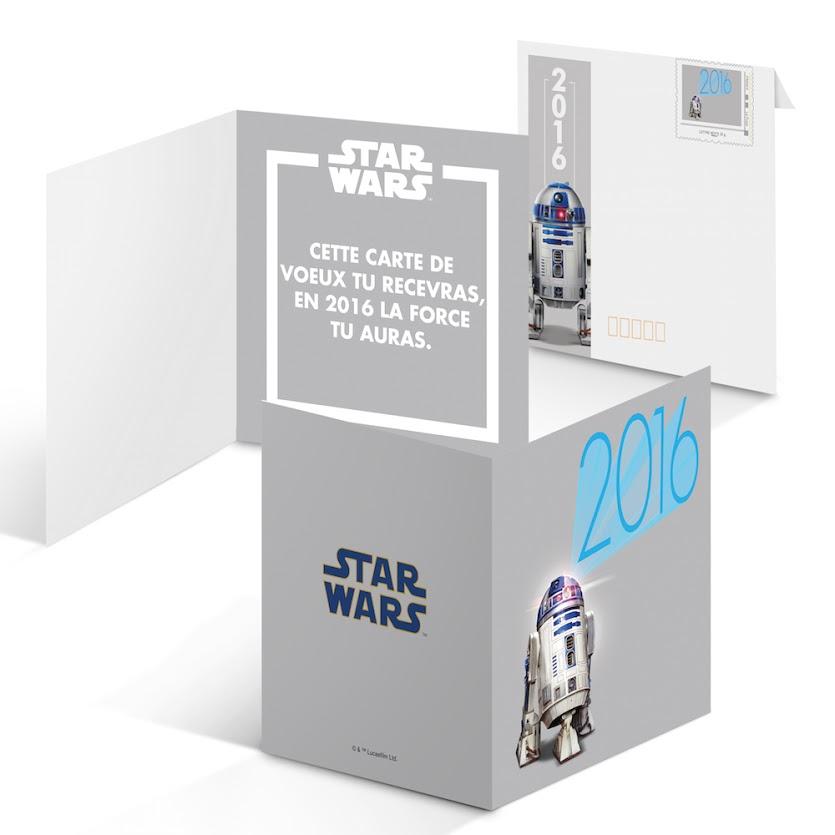 STAR WARS CÉLÉBRATION édité par la poste 2015 avec origamix R2-D2 ... | 835x835