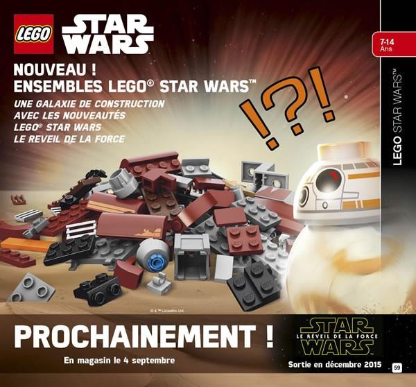 BB-8 devant le speeder de Rey