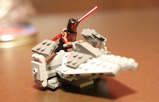 Lego les exclusivit s de conventions actualit s - Vaisseau dark maul ...