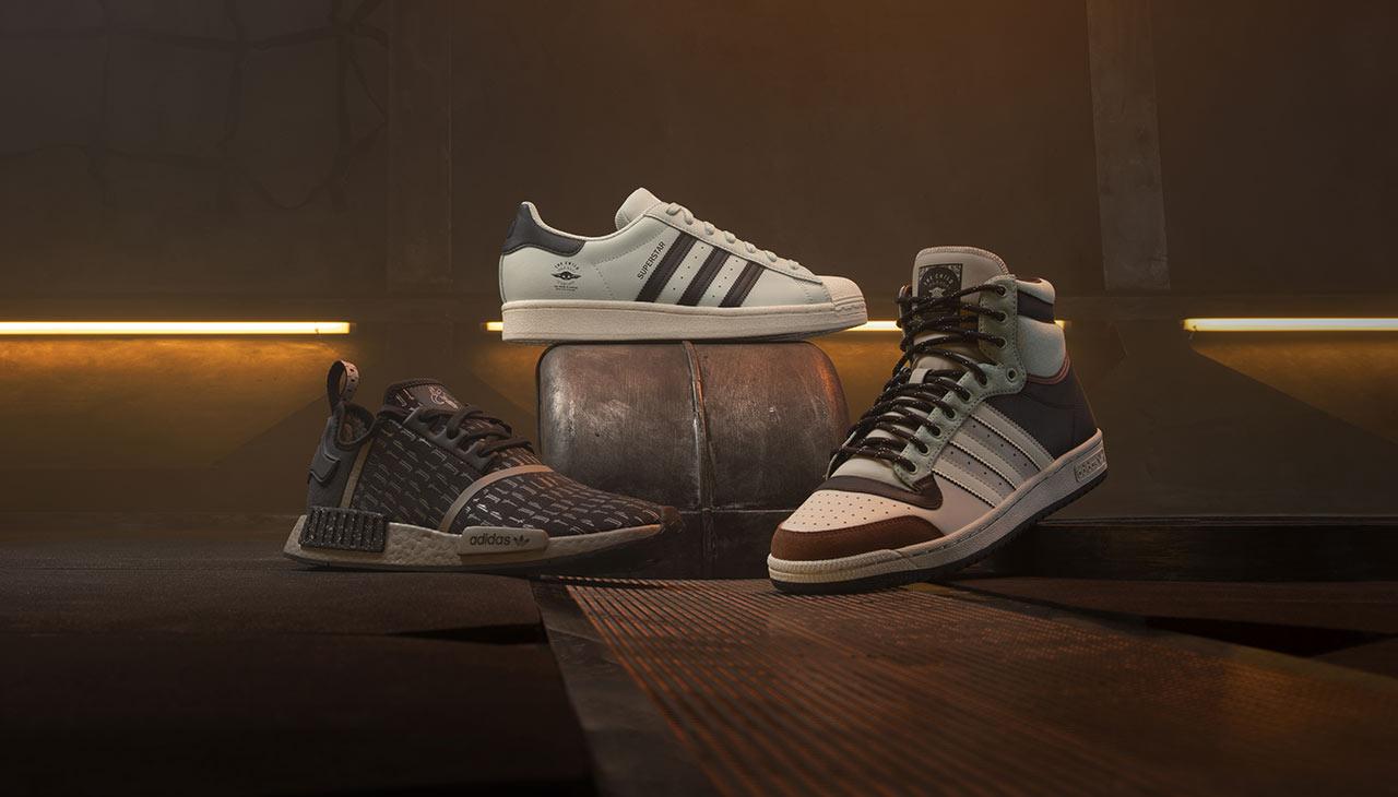 Chassures Adidas aux couleur de Star Wars