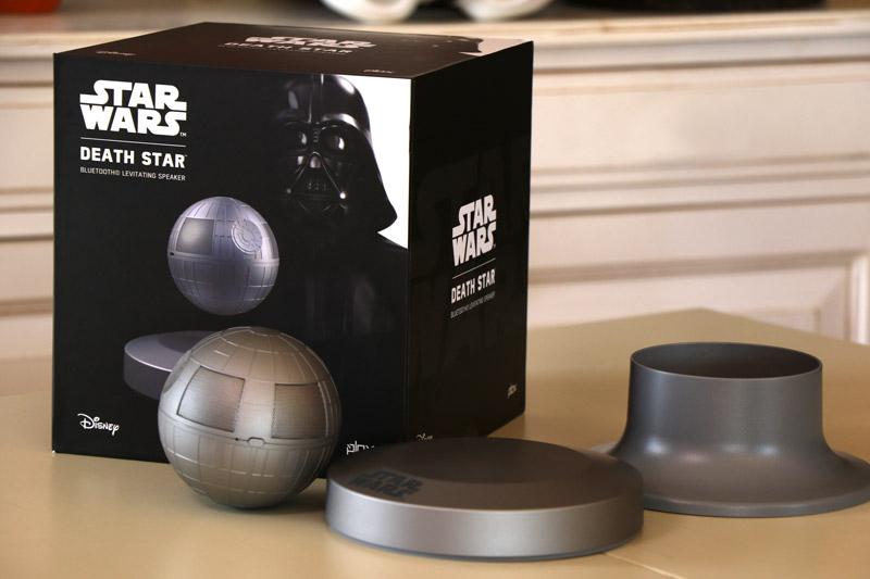 Plox Death Star Bluetooth levitating speaker