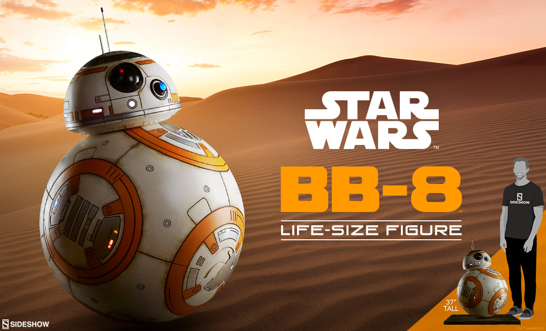 Preview Sideshow BB-8 Lifesize