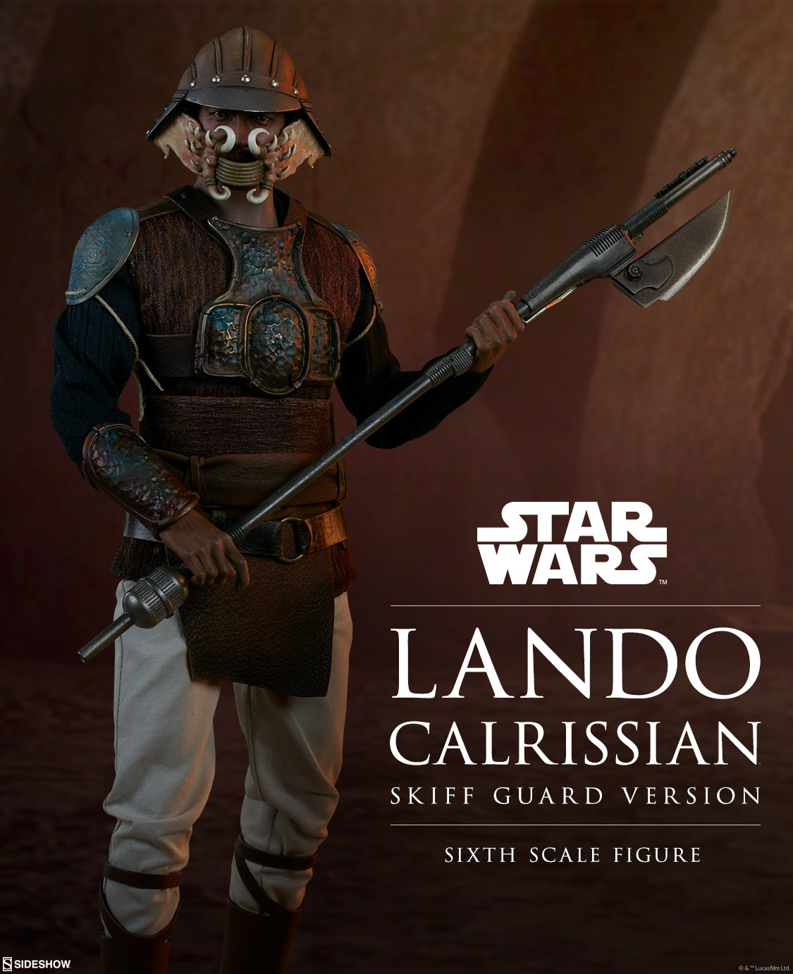 Sideshow Lando Skiff Guard Preview