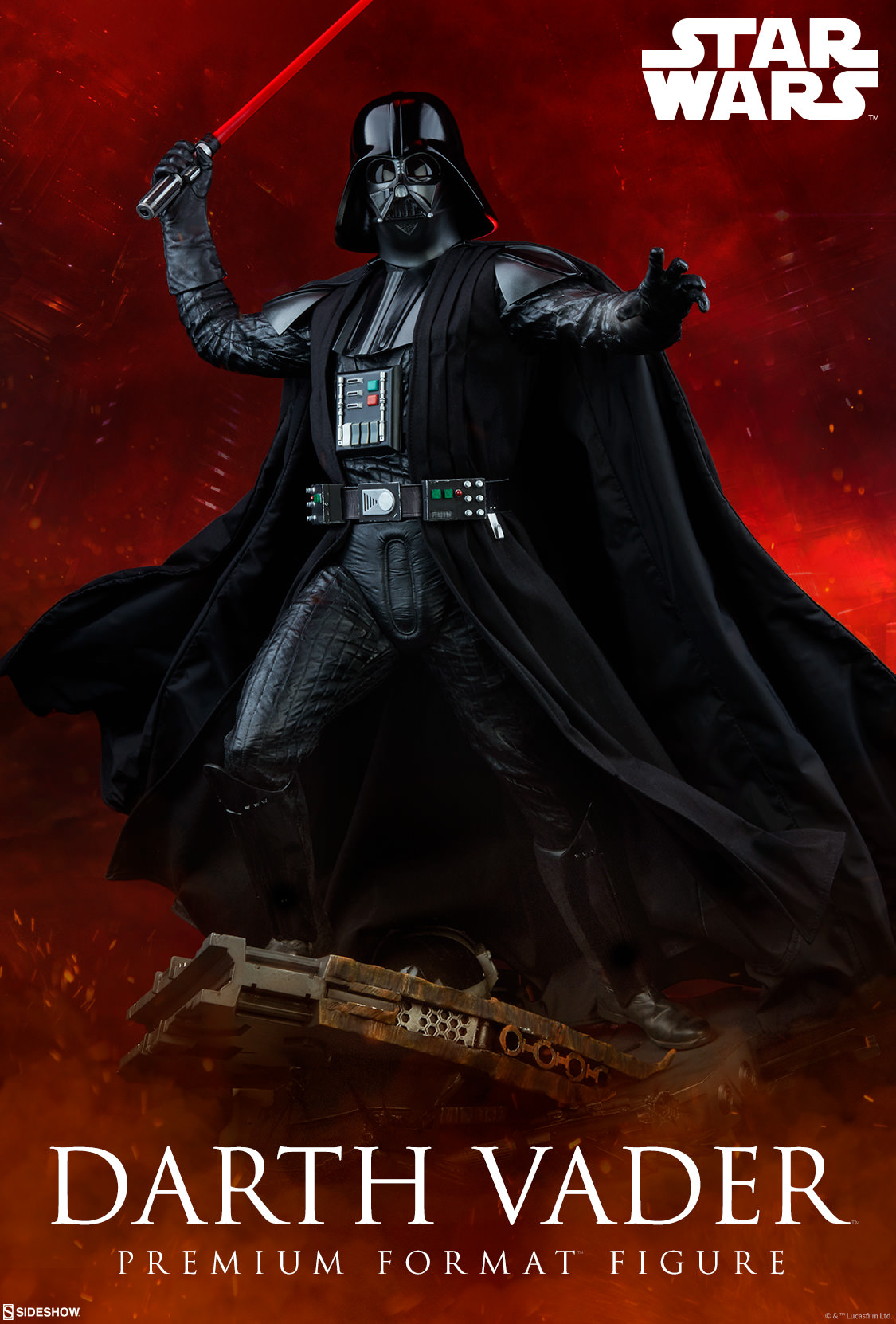 Sideshow Darth Vader Rogue One Premium Format Preview